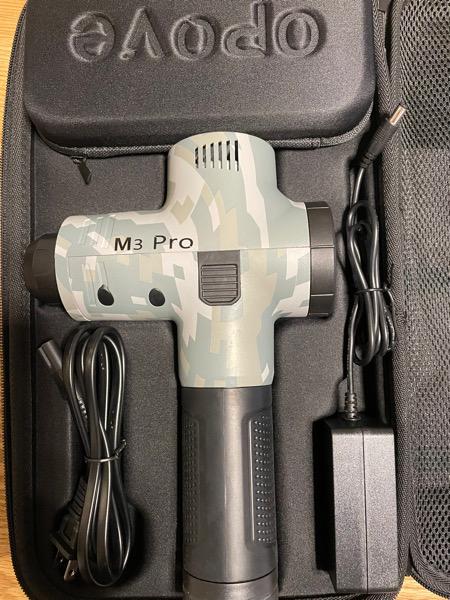 バネ指治療でマッサージガンopove M3 Proを購入したら気持ち良さに驚いた