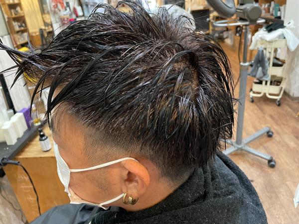 【大阪 今里】髪質が硬く収まりが悪い人にはツイストパーマがオススメ