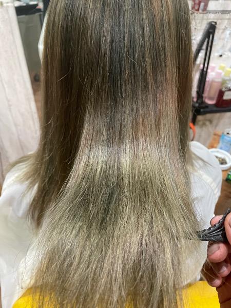 【大阪 今里】ブリーチ毛のカラーチェンジにはベホマトリートメントとビータークリームでケアをするのがオススメ
