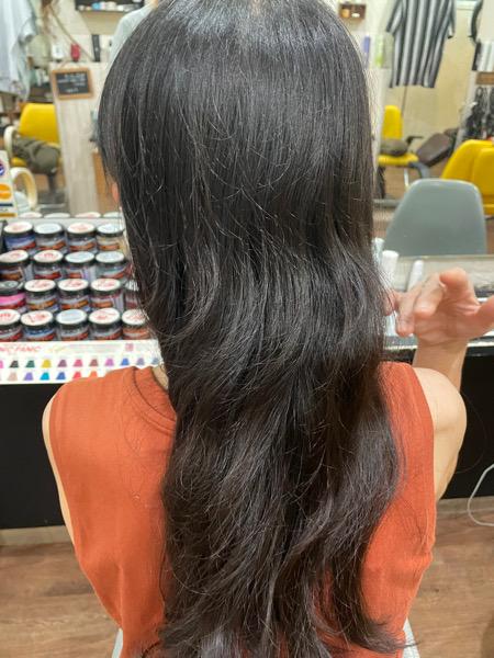 【大阪 今里】髪の毛の長さを変える時に似合うかどうかを確認するのにすることは?