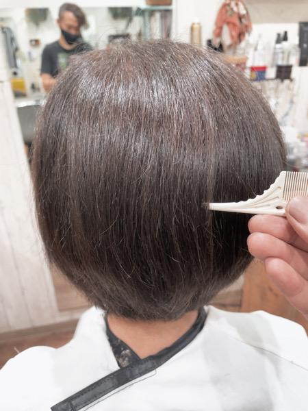 【大阪 今里】エイジング毛の髪の毛には外国人風カラーとLULU トリートメントがオススメ