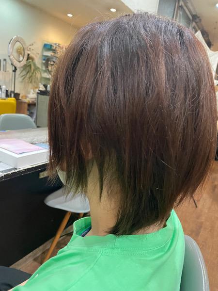 【大阪 今里】白髪染めのブリーチスタイルにはLULUトリートメントがオススメ