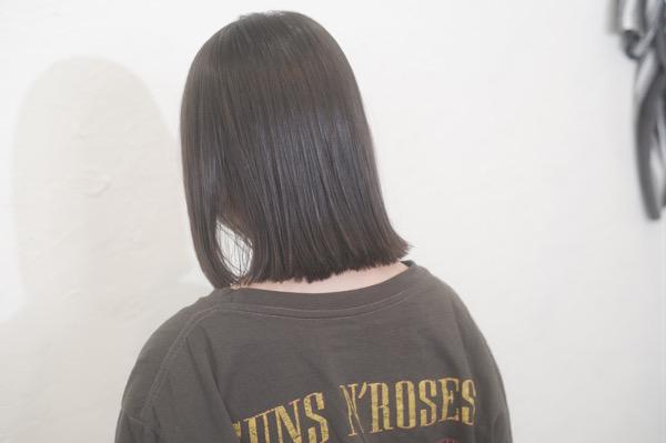 【大阪 今里】隠れ癖毛にオススメのベホマ縮毛矯正を小学生にしてみた